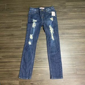 Pink Lily Boutique Jeans Skinny Destroyed Size 11